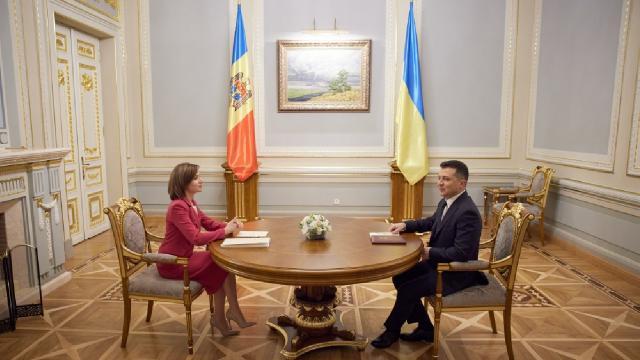 Ukrayna ve Moldova birbirlerini destekleyecek