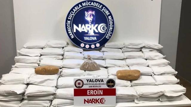 Pirinç torbaları ve bal tenekelerine gizlenmiş uyuşturucu ele geçirildi