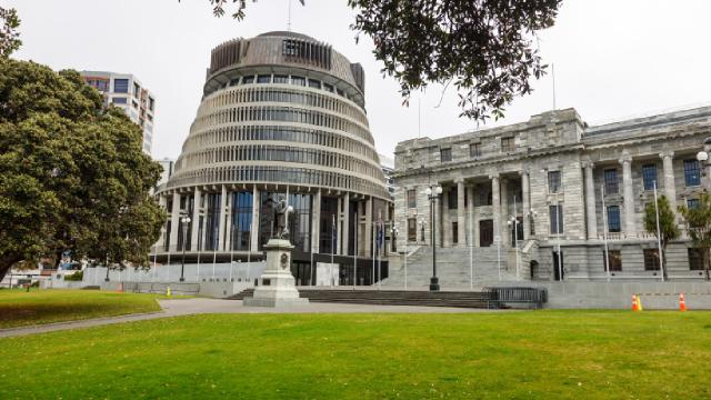 Yeni Zelandada parlamento binasına baltalı saldırı