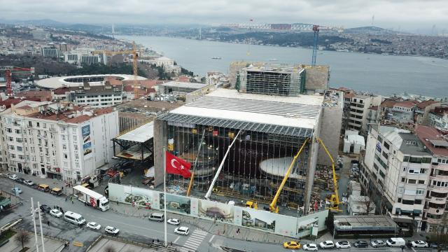 AKM inşaatının yüzde 80i tamamlandı