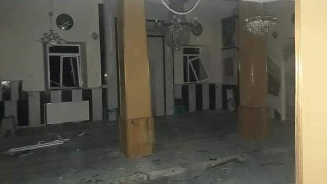 Kayseride bir camiye yıldırım düştü