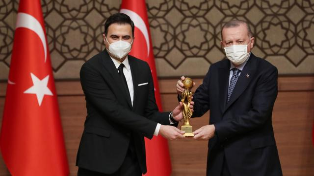 TRT'ye 2 medya Oscar'ı