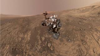 Curiosity Mars'ta 3 bin günü tamamladı