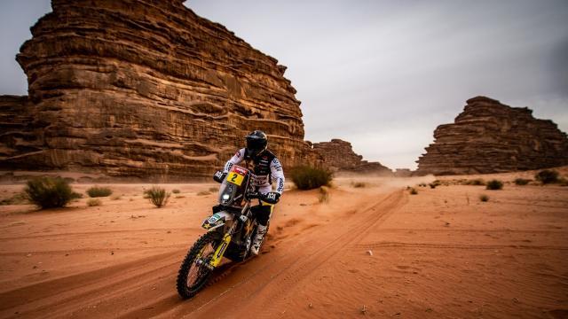 Dakar Rallisinde 10. etap geçildi