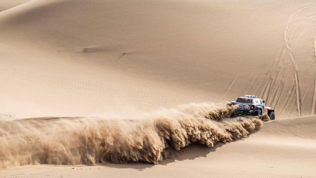 Dakar Rallisinde onbirinci etap geride kaldı