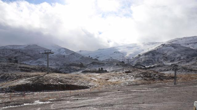 Egenin en büyük kayak merkezini kuraklık vurdu