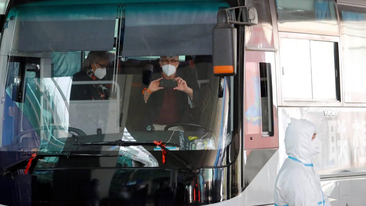 DSÖ ekibi Wuhan'da karantinadan çıktı