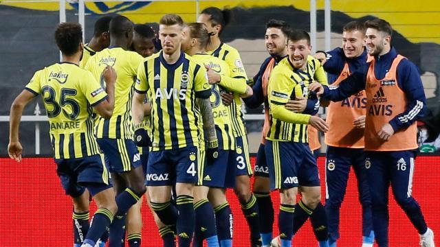 Fenerbahçeye çeyrek final için tek gol yetti