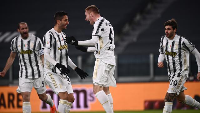 Juventus, Inter ve Napoli kupada çeyrek final bileti aldı