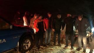 Kahramanmaraş'ta karda mahsur kalanları ekipler kurtardı