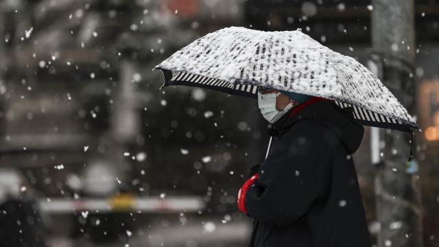 12 ilde karla karışık yağmur ve kar bekleniyor