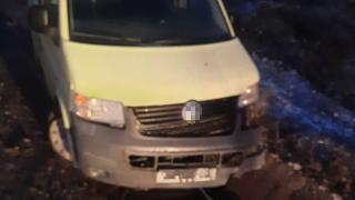 Samsun'da minibüs kanala düştü: 8 yaralı
