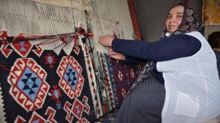 Jirki kilimi Şırnaklı kadınlara iş kapısı oldu
