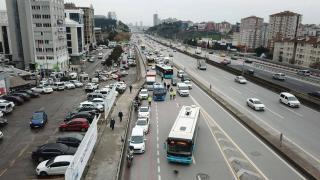 İstanbul'da kış lastiği takmayan sürücülere para cezası