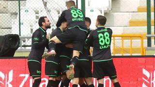 Konyaspor çeyrek finale yükseldi