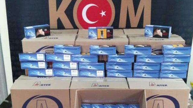 Kocaelide 150 bin kaçak makaron ele geçirildi