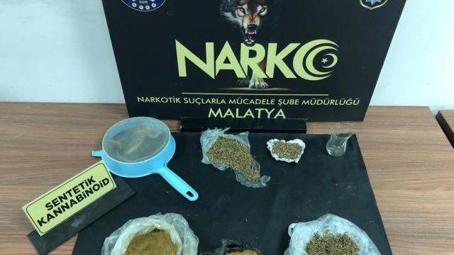 Malatyada uyuşturucu operasyonunda 4 tutuklama