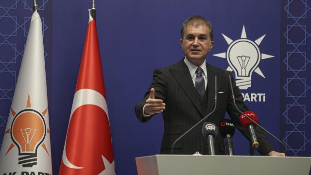 Ömer Çelik: Ege'de 3 senede 78 binden fazla sığınmacı Türk kara sularına itildi