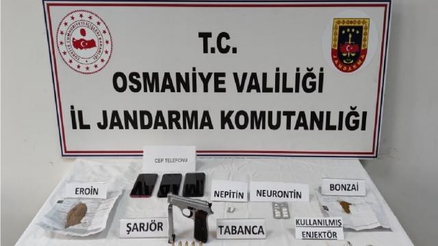 Osmaniyede uyuşturucu operasyonu: 4 gözaltı