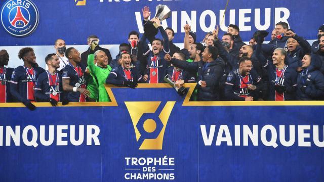 PSG Fransa Süper Kupasını kazandı