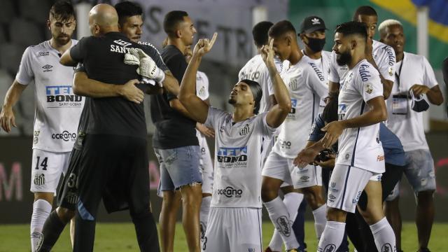 Libertadores Kupasında ikinci finalist Santos oldu