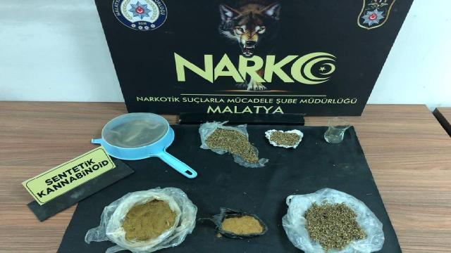 Malatyada uyuşturucu operasyonu: 4 kişi tutuklandı
