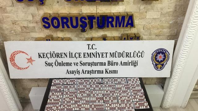 Ankarada uyuşturucu operasyonları: 4 gözaltı