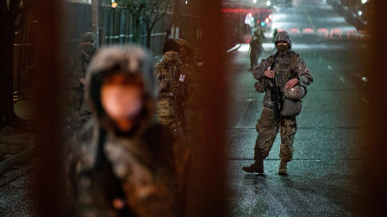 Washington'da yemin töreni alarmı: 25 bin ulusal muhafız görev alacak