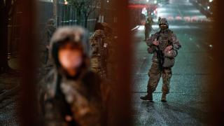 Washington'da asker sokakta: Silahlı grupların eylem yapacağı iddiası var