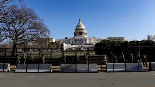 ABD Kongresi yeniden demir çitlerle çevrilecek