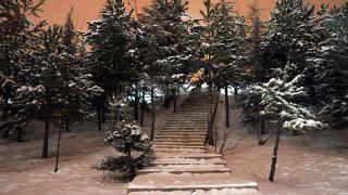 Ankara'da kar yağışı etkisini sürdürüyor