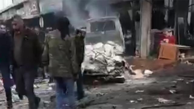 Azezde patlama: 1 ölü, 5 yaralı
