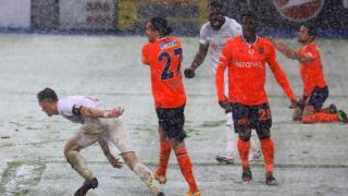 Başakşehir'in galibiyet serisi sona erdi
