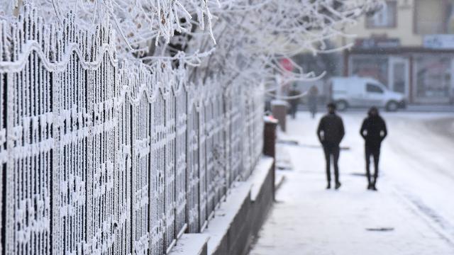AFKOMdan Kocaeli için buzlanma ve don uyarısı