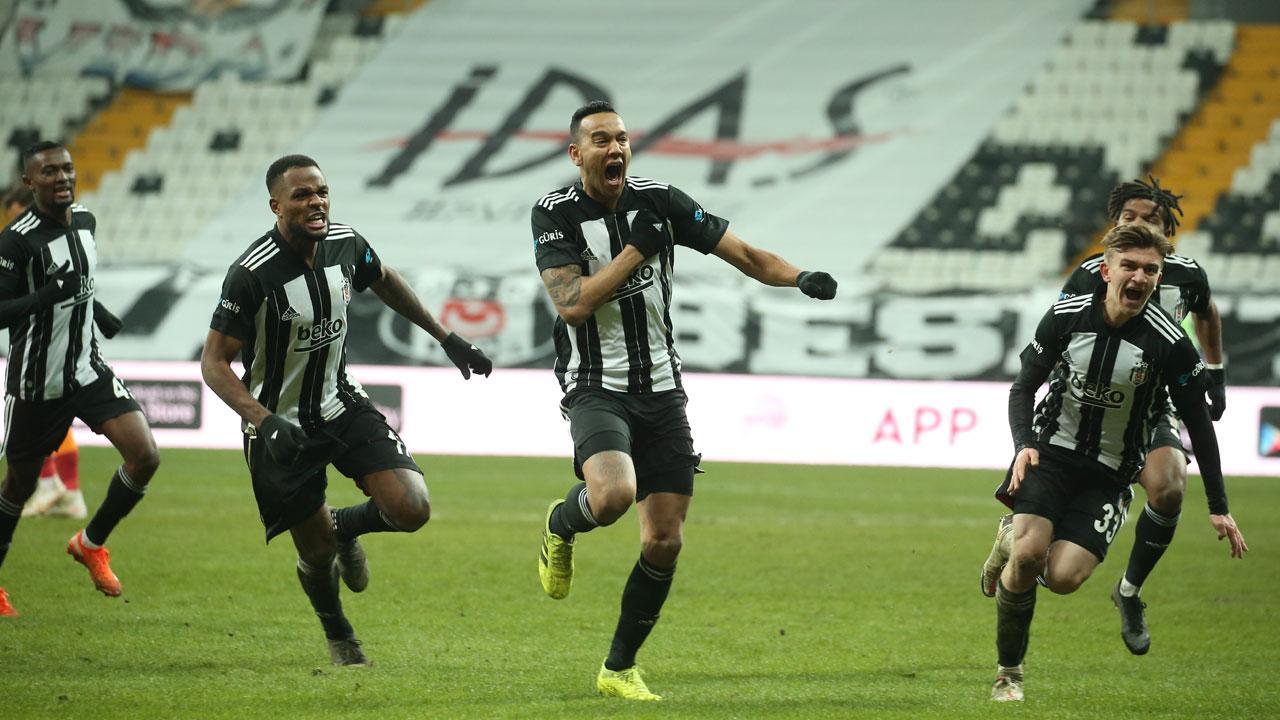 Yılın ilk derbisi Beşiktaş'ın