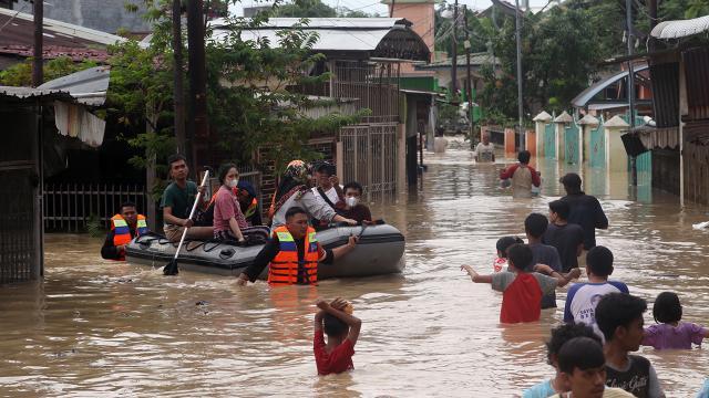 Endonezyada sel ve heyelan: 5 ölü