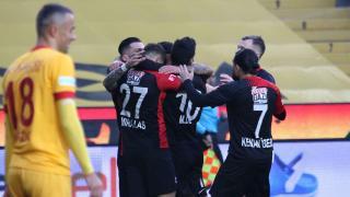 Gaziantep FK evinde kazandı