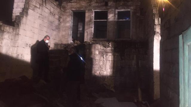 Gaziantepte metruk bina çöktü: 1 ölü, 3 yaralı