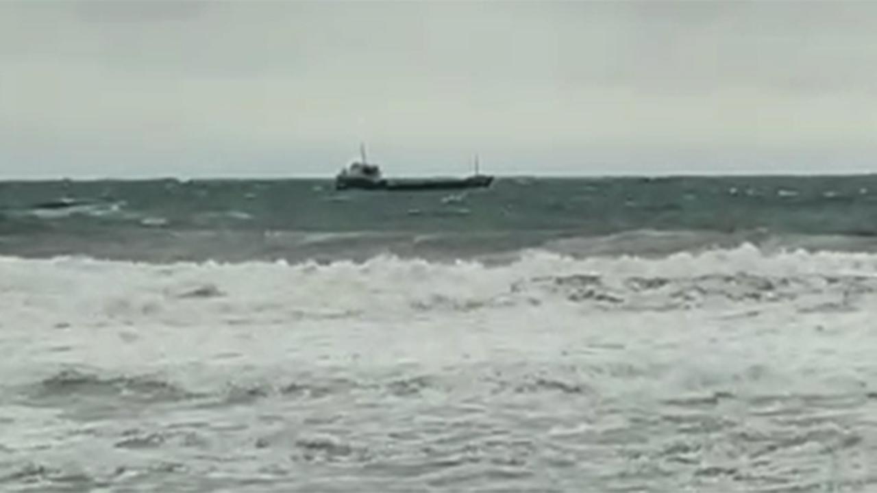 Bartın'da kuru yük gemisi battı: 6 kişi kurtarıldı