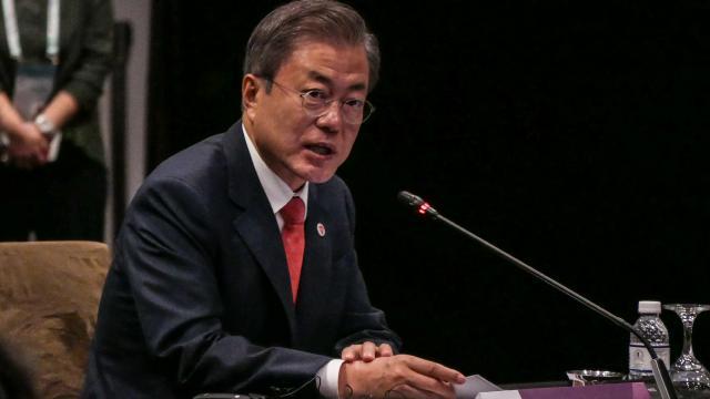 Güney Kore Devlet Başkanı: ABD ve Çin ile ilişkiler eşit derecede önemli