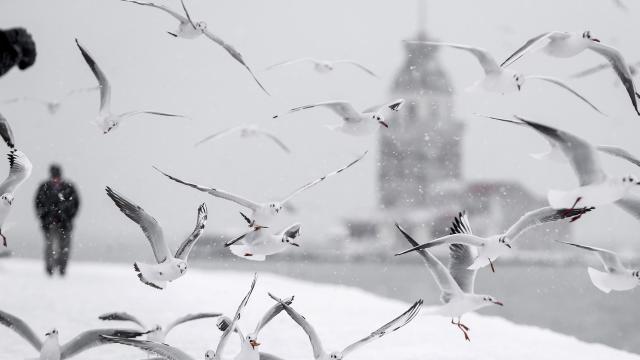 İstanbul için AKOMdan kar uyarısı