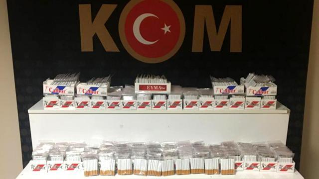 Kırşehirde kaçak tütün operasyonu: 1 gözaltı