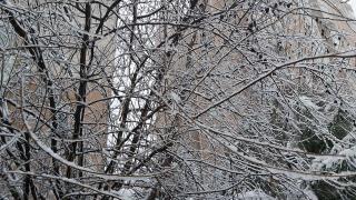 İstanbul'da yüksek kesimler, kısa sürede beyaz örtüyle kaplandı