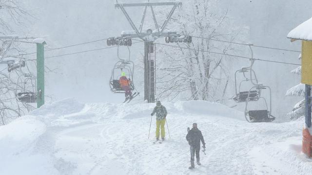 Kartepede kar kalınlığı 87 santimetre