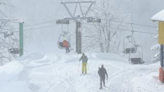 Kartepe'de kar kalınlığı 87 santimetre