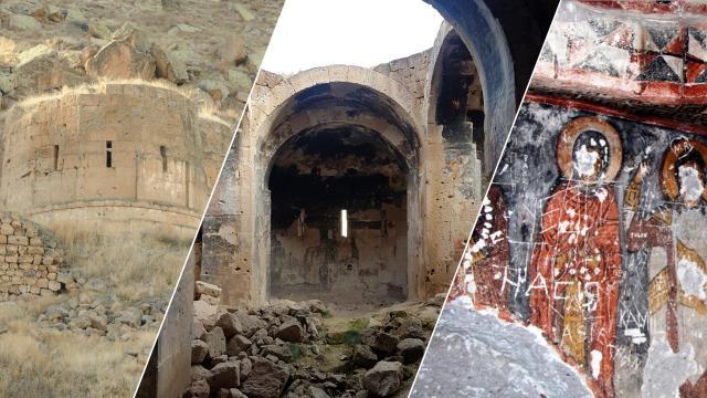 Definecilerin zarar verdiği tarihi kilise restore edilecek