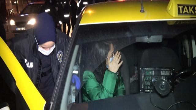 Takside alkol alırken yakalanan kadın: Hastaneye gidiyordum