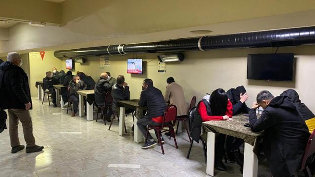 Kumarcılar salgın dinlemiyor: 162 kişiye 591 bin lira ceza