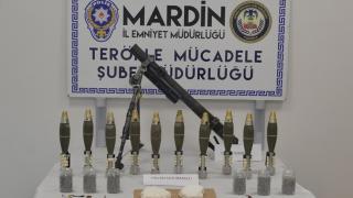 Mardin'de PKK'ya ait mühimmat ele geçirildi