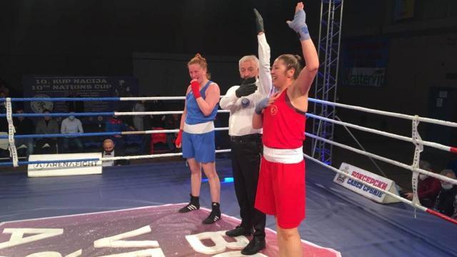 Kadın milli boksörler Sırbistanda 5 madalya kazandı